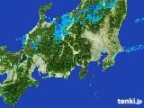 2017年04月19日の関東・甲信地方の雨雲レーダー