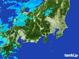 2017年04月20日の関東・甲信地方の雨雲レーダー