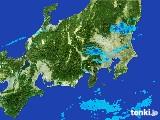 2017年04月22日の関東・甲信地方の雨雲レーダー