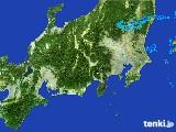 2017年04月28日の関東・甲信地方の雨雲レーダー