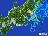 2017年05月01日の関東・甲信地方の雨雲レーダー