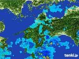 2017年05月03日の愛媛県の雨雲の動き