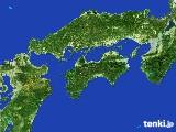 2017年05月05日の四国地方の雨雲の動き