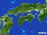 2017年05月08日の四国地方の雨雲の動き
