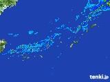 2017年05月09日の沖縄地方の雨雲レーダー