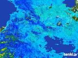 2017年05月09日の四国地方の雨雲の動き