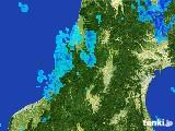 2017年05月10日の山形県の雨雲レーダー