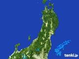 2017年05月22日の東北地方の雨雲レーダー