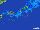 2017年05月24日の沖縄地方の雨雲レーダー