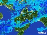 2017年05月24日の愛媛県の雨雲の動き