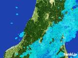 2017年05月24日の山形県の雨雲レーダー