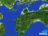 2017年05月25日の愛媛県の雨雲の動き