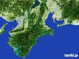 2017年05月28日の三重県の雨雲レーダー