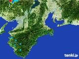 2017年06月01日の三重県の雨雲レーダー