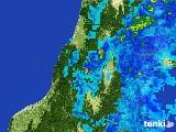 2017年06月01日の山形県の雨雲レーダー