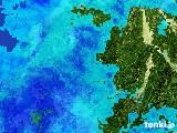 2017年06月07日の岐阜県の雨雲レーダー
