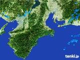 2017年06月08日の三重県の雨雲レーダー