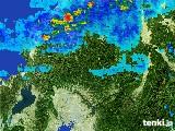 2017年06月10日の岐阜県の雨雲レーダー