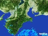 2017年06月10日の三重県の雨雲レーダー