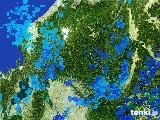 2017年06月21日の岐阜県の雨雲レーダー
