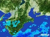 2017年06月22日の三重県の雨雲レーダー