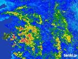 雨雲レーダー(2017年06月24日)