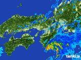 雨雲レーダー(2017年06月25日)