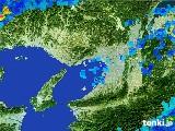 2017年06月25日の大阪府の雨雲レーダー