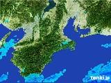 2017年06月26日の三重県の雨雲レーダー
