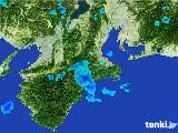 2017年06月28日の三重県の雨雲レーダー