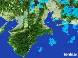 2017年06月29日の三重県の雨雲レーダー