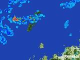 2017年06月30日の長崎県(壱岐・対馬)の雨雲レーダー