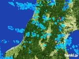 2017年06月30日の山形県の雨雲レーダー