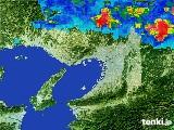 2017年07月02日の大阪府の雨雲レーダー