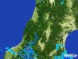 2017年07月02日の山形県の雨雲レーダー