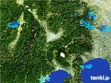 2017年07月05日の山梨県の雨雲の動き