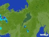 2017年07月07日の滋賀県の雨雲レーダー