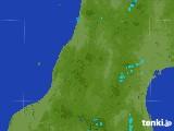2017年07月07日の山形県の雨雲レーダー