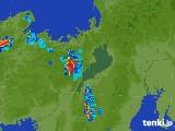 2017年07月08日の滋賀県の雨雲レーダー