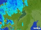 2017年07月09日の滋賀県の雨雲レーダー
