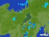 2017年07月10日の滋賀県の雨雲レーダー