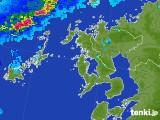 2017年07月11日の長崎県の雨雲レーダー