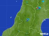 2017年07月11日の山形県の雨雲レーダー