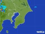 2017年07月12日の千葉県の雨雲レーダー