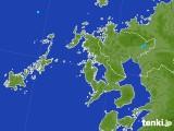 2017年07月12日の長崎県の雨雲レーダー
