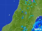 2017年07月13日の山形県の雨雲レーダー