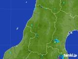 2017年07月14日の山形県の雨雲レーダー