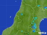 2017年07月15日の山形県の雨雲レーダー