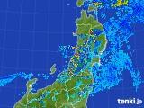 2017年07月16日の東北地方の雨雲レーダー