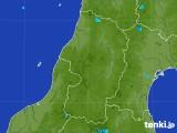 2017年07月17日の山形県の雨雲レーダー